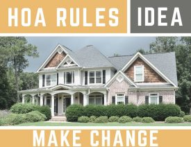 How to make proposed changes to your property in an hoa picture