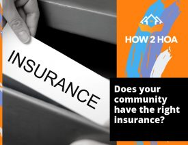 Find the right insurance for your homeowners association
