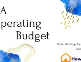 Preparing an operating budget for your homeowners association